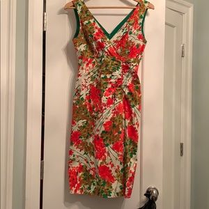 Donna Rico Fitted Dress, Size 4